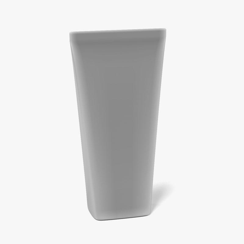 3d drink box model