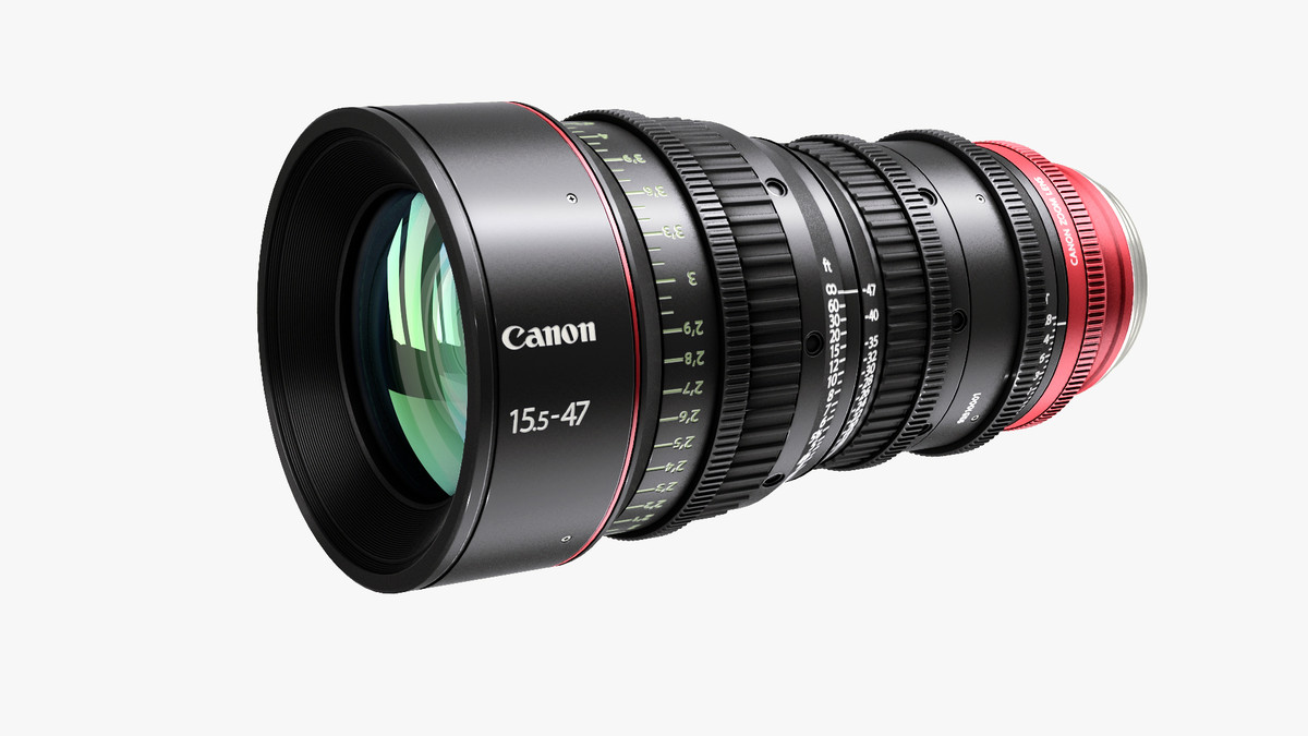 canon cn-e 15 3d model