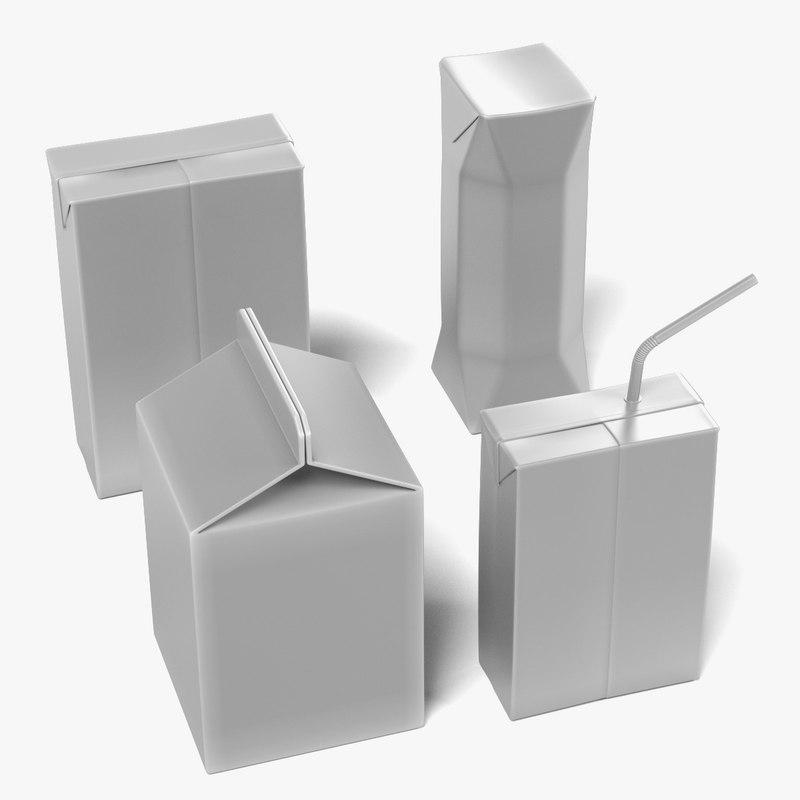 3d drink boxes