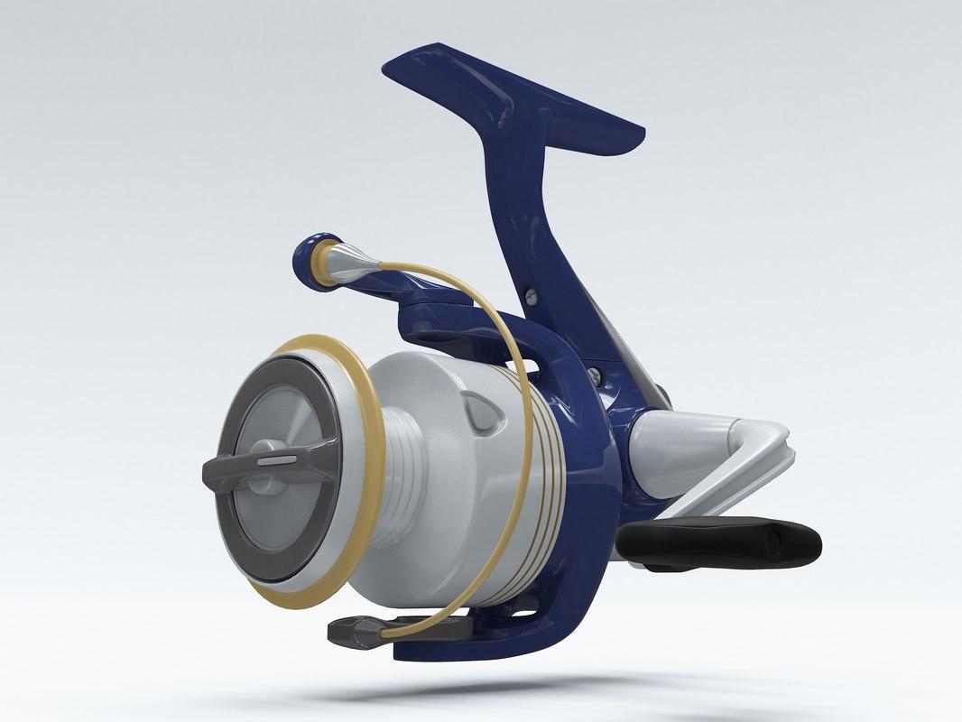3d spinning reels