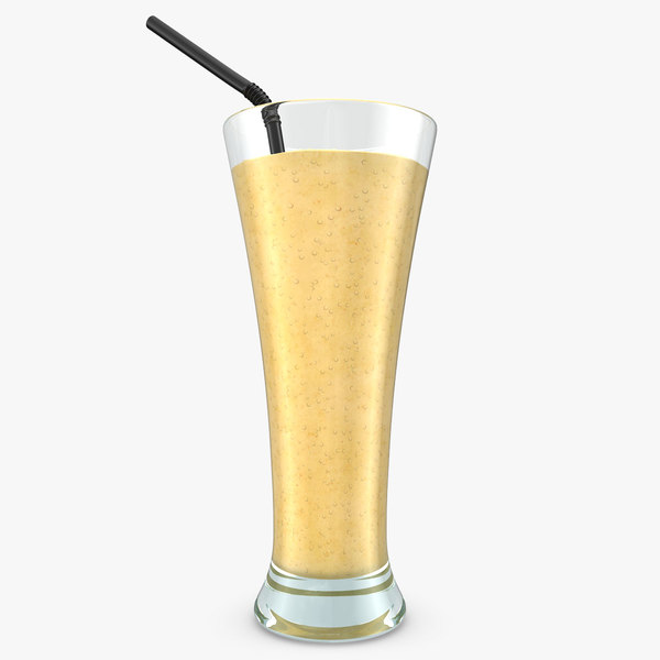realistic smoothie banana 3d max