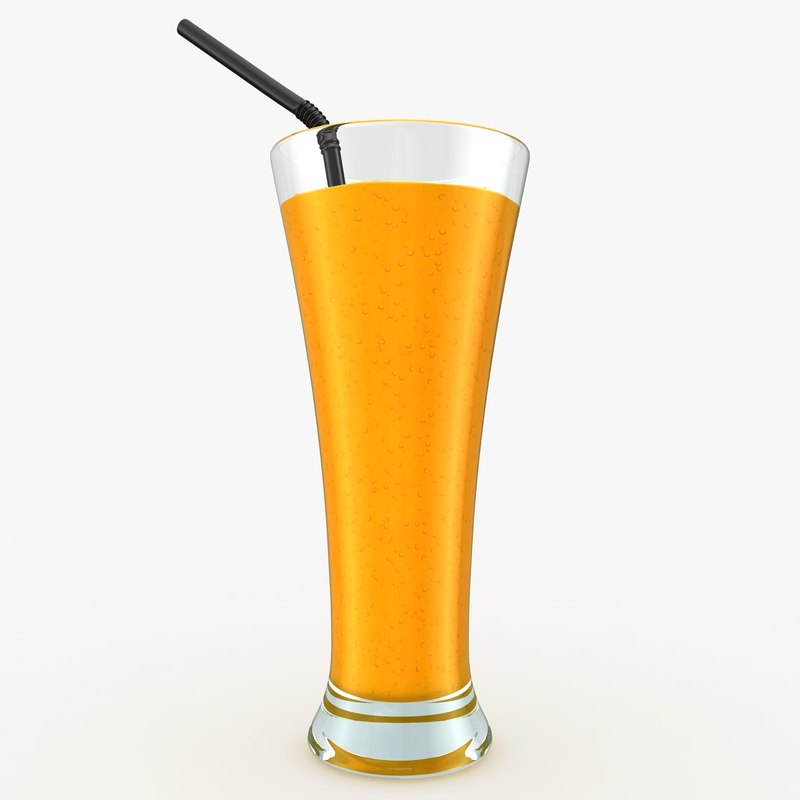 realistic smoothie orange max