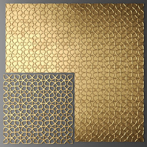 obj panel lattice grille
