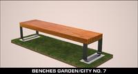 benches garden city max
