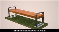 obj benches garden city