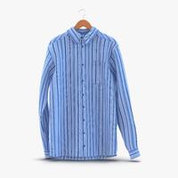 3d model of shirt hanger 3