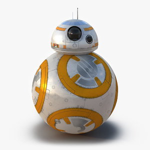 3d max star wars bb 8