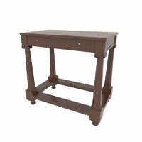 3d model table design