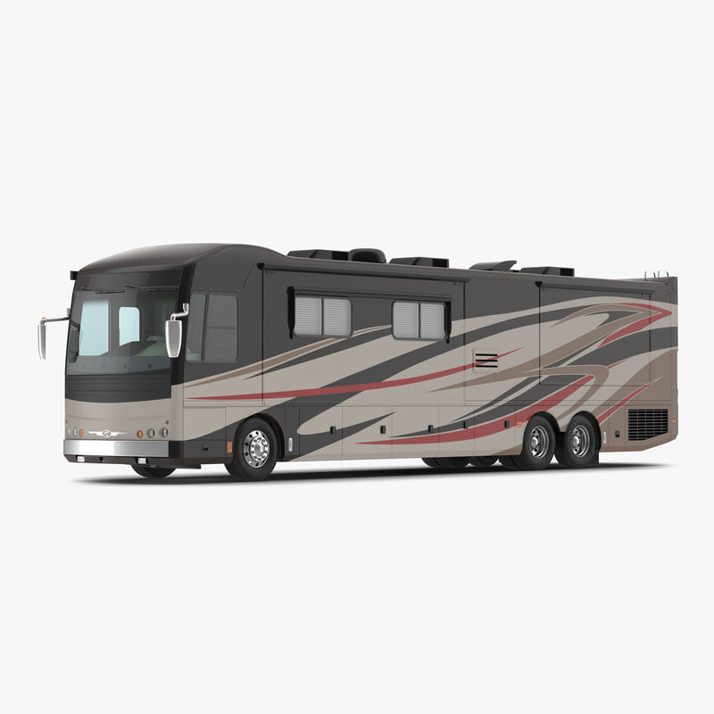 3d model american recreation vehicle rv