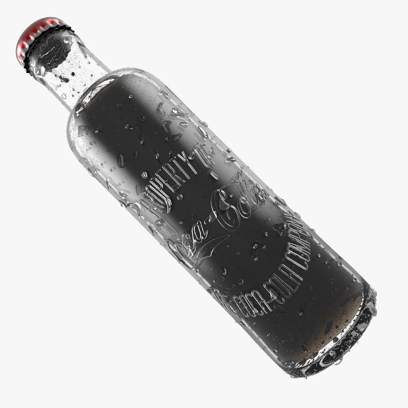 1899 bottle glass 3d model