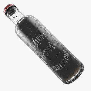1899 bottle glass 3d model
