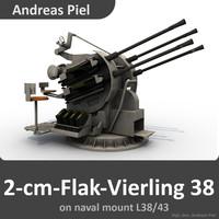 2-cm-Flak-Vierling 38