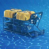 3d model of global explorer rov