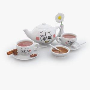 porcelain tea set max