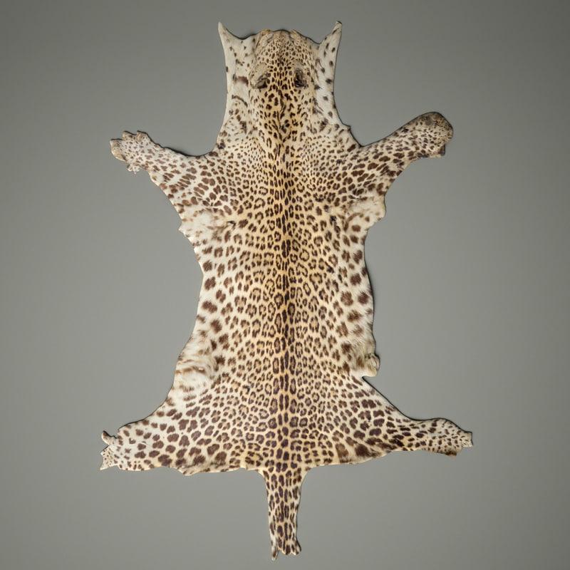 3d leopard rug carpet