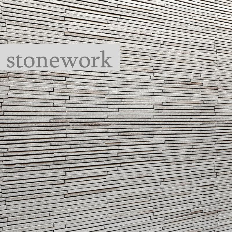 3d model stone slate