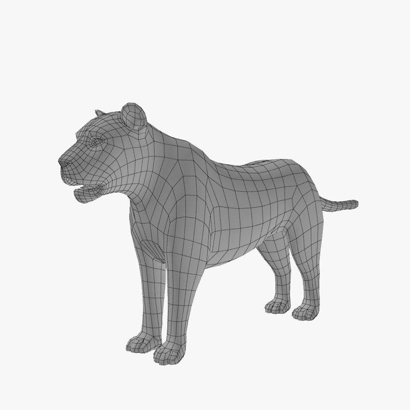 lion basemesh max