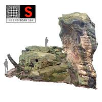 stone 16k ultra hd 3d obj