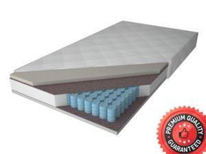 mattress bed modeled 3d model