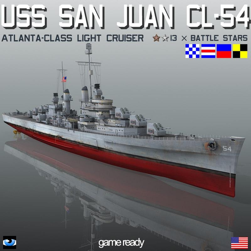 3ds uss san juan cl-54