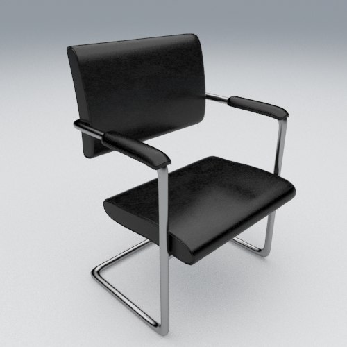 modern office chair 3d x