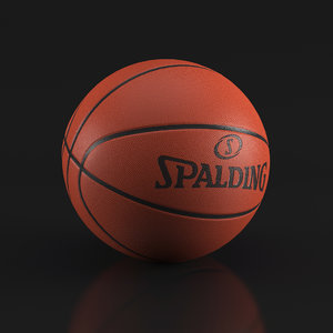3d max basketball ball