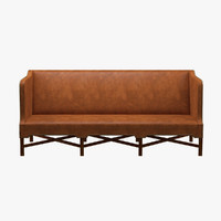 KK41181 - Sofa With High Sides - Kaare Klint