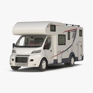 3d model motorhome generic modeled