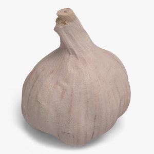 3d garlic ready unreal model