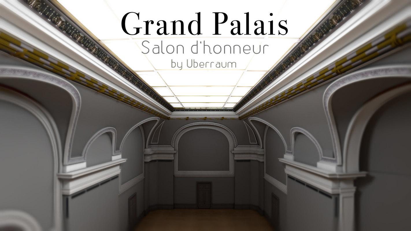 3d d honneur grand palais