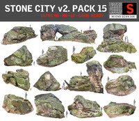 Stone Forest  15 PACK