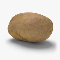 potato ready unreal 3d model