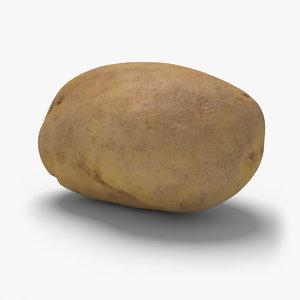 potato ready unreal 3d model