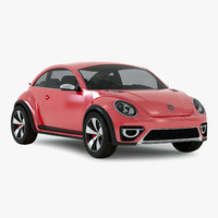 Volkswagen Beetle 2016 Red