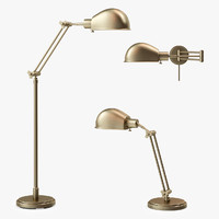 3d addison floor lamp