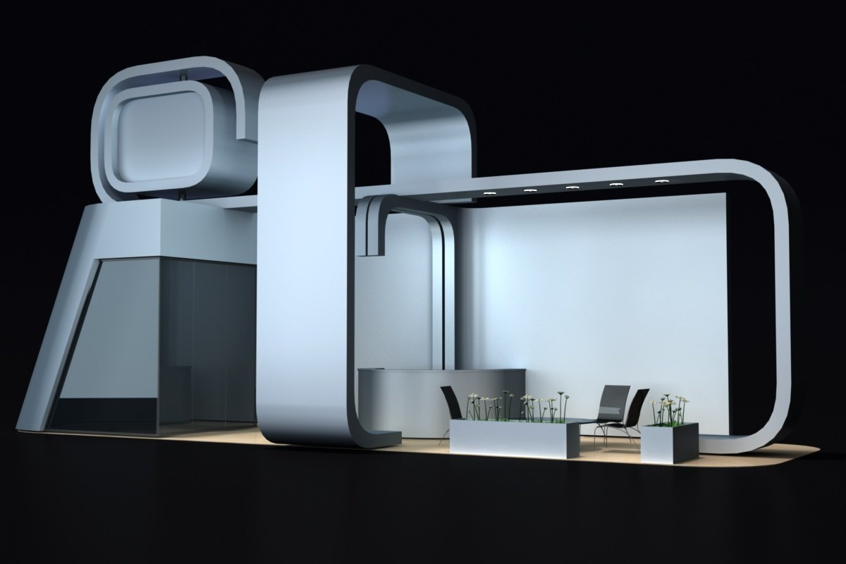 3d exhibition stand 1
