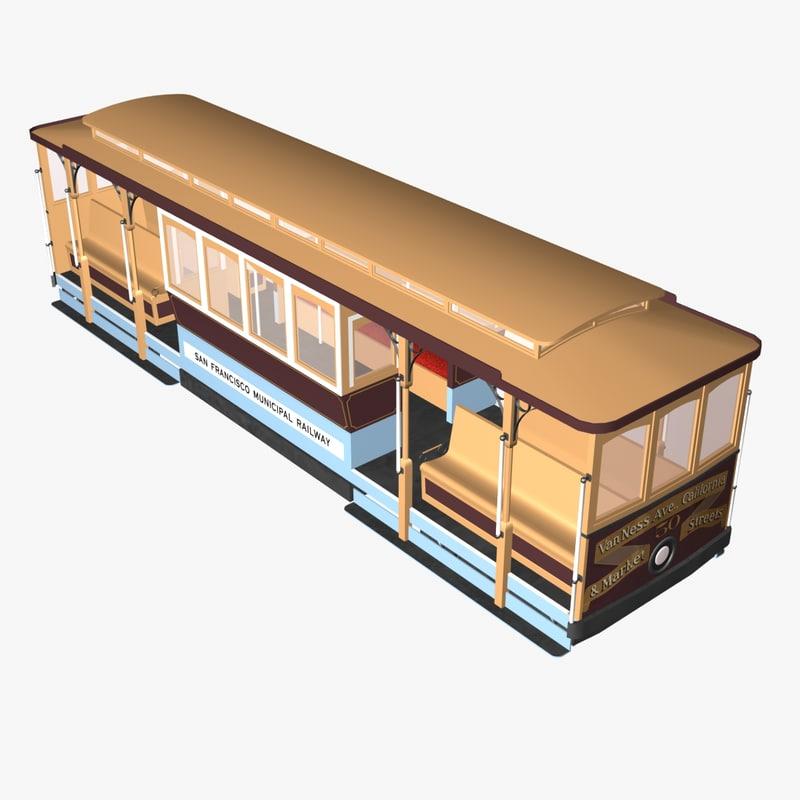 cable car san 3d 3ds