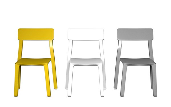 3d modern chairs model