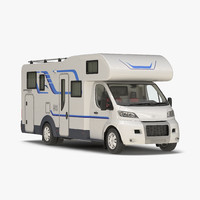 Tag Axle Motorhome Simple Interior