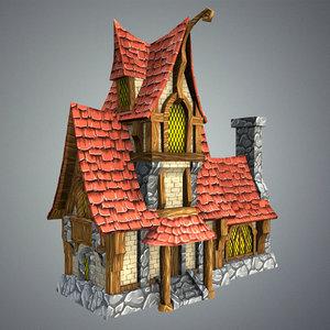 fairytale house games 3d max