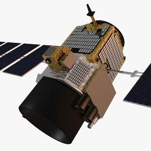 calipso spacecraft 3d model