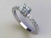 Solitaire ring 002