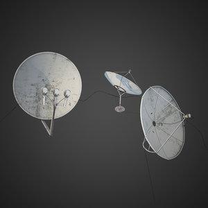 3d model antenna exterior