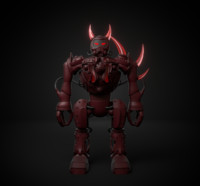 red devil 3d model