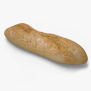 bread ready unreal 3d obj