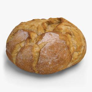 bread ready unreal 3d model