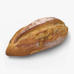bread ready unreal 3d max