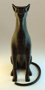 blender cat 3d model