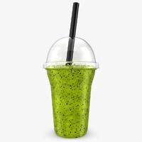 realistic fruit shake kiwi max