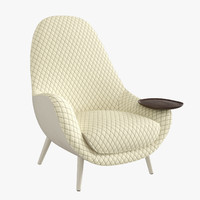 poliform mad king chair 3d x